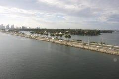 Время 3 дня горизонта Майами Стоковая Фотография RF
