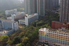 время дня tseung kwan o, Гонконга Стоковые Изображения