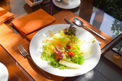 время обеда террасы afternool Стоковое Изображение