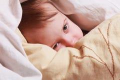 Время ложиться спать ребёнка Стоковые Изображения RF