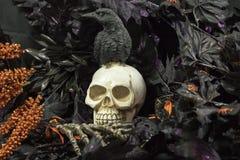 Время партии хеллоуина Стоковое Изображение