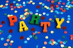 время партии Стоковые Изображения RF