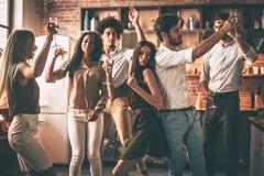 Время партии! стоковое фото