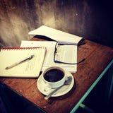 Время перерыва на чашку кофе Стоковая Фотография