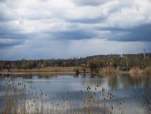 Время перед дождем Стоковая Фотография