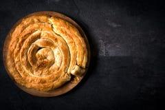 Время пирога сыра стоковые фотографии rf