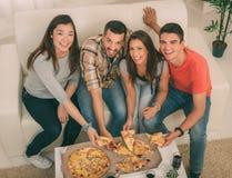 Время пиццы Стоковое фото RF