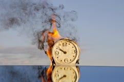 время пожара Стоковые Фото