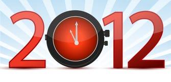 время принципиальной схемы часов Стоковое фото RF