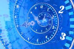 время принципиальной схемы Стоковые Фотографии RF
