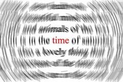 время принципиальной схемы Стоковое Фото