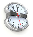 время принципиальной схемы Стоковое Изображение RF