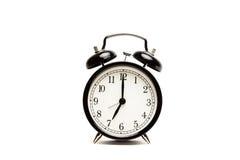 Время проспать вверх - старый будильник стоковая фотография