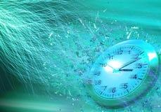 Время проходит принципиальную схему Стоковое фото RF