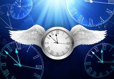 Время проходя концепцию Стоковое Изображение