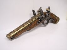 время пушки старое стоковое фото rf