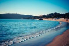 Время 1 пляжа стоковое фото rf