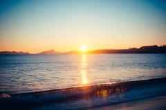 Время 1 пляжа стоковые изображения