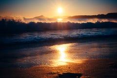 Время 1 пляжа стоковое изображение