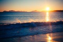Время 1 пляжа стоковое изображение rf