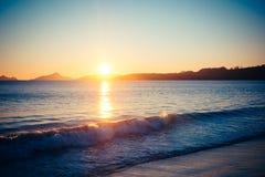 Время 1 пляжа стоковая фотография rf