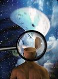 Время разума принципиальной схемы Стоковое Фото