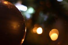 Время рождества приходит, света дерева Стоковые Изображения RF
