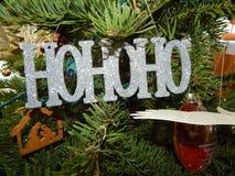 Время рождества в воздухе Стоковая Фотография RF