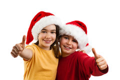 Время рождества - ОДОБРЕННЫЙ знак Стоковые Изображения