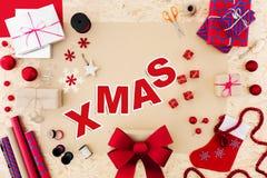 Время рождества симпатично стоковые фото