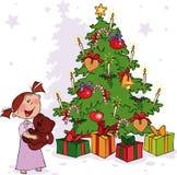 время рождества Стоковое Изображение