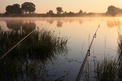 время рыболовства Стоковое Фото