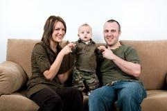 Время семьи Стоковая Фотография