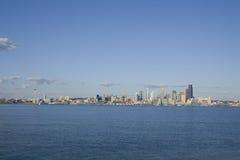 Горизонт города Сиэтл Стоковое Изображение RF