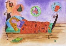 Время спать бесплатная иллюстрация