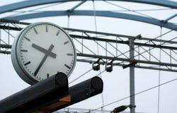 время станции Стоковое фото RF