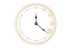 Время умножит ваши деньги Стоковые Фото