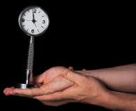 время управления принципиальной схемы Стоковое Изображение