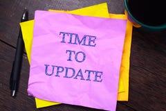 Время уточнить, мотивационное дело формулирует концепцию цитат стоковое изображение
