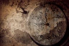 Время часов Grunge стоковые фото