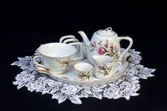 Время чая для одного Стоковые Изображения