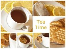 время чая Стоковое Изображение