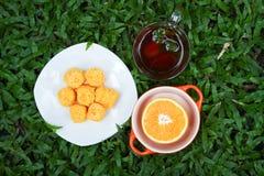 Время чая. Стоковые Изображения