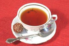 время чая стоковое фото rf