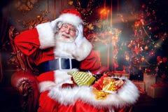 Время чуда с santa стоковые фото
