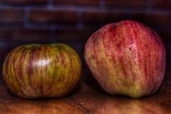 Время Яблока в здоровом времени Стоковые Изображения