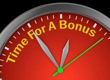 Время для бонуса бесплатная иллюстрация
