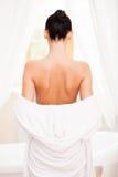 Время для жемчужной ванны Стоковое фото RF