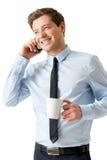 Время для перерыва на чашку кофе. стоковое изображение