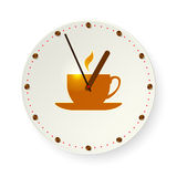 Время для перерыва на чашку кофе Стоковая Фотография